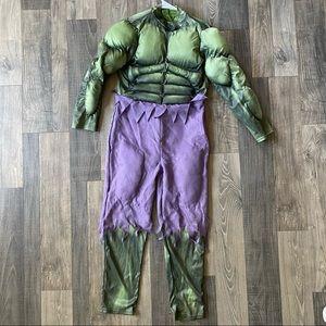 Marvel Hulk Boys Size 10 Halloween Costume Avenger